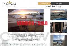 2 bedroom Apartment in El Médano