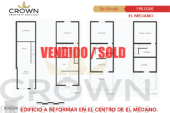 Edificio en El Médano ID: CP:SIVAD