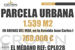 1.539 M2 Building Land ID:CPL028